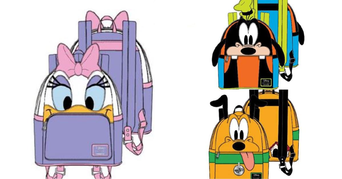 Disney Character Backpacks