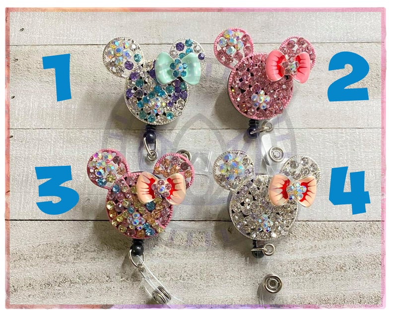 Disney ID Badge Reels