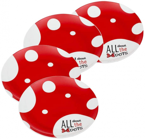 Rock The Dots Dinner Plates