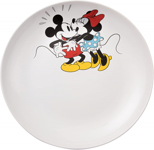 Mickey And Minnie Serving Platter