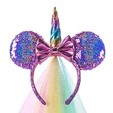 Unicorn Minnie Ears