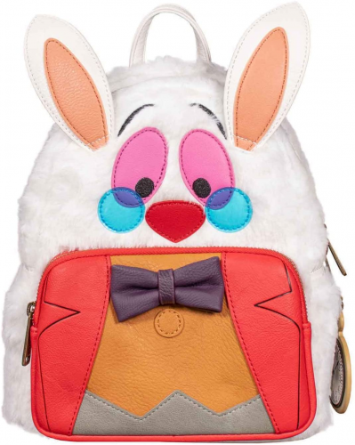 White Rabbit Loungefly Mini Backpack