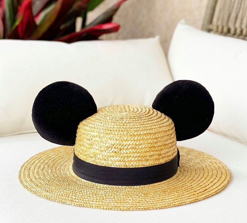 Mickey Straw Hat