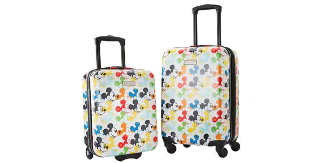 Mickey Suitcases