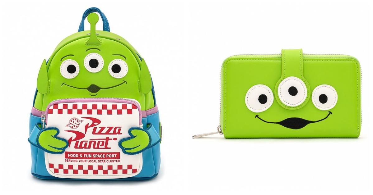 Green Alien Backpack