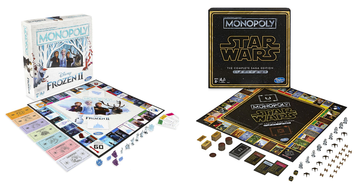 Star Wars And Frozen Monopoly