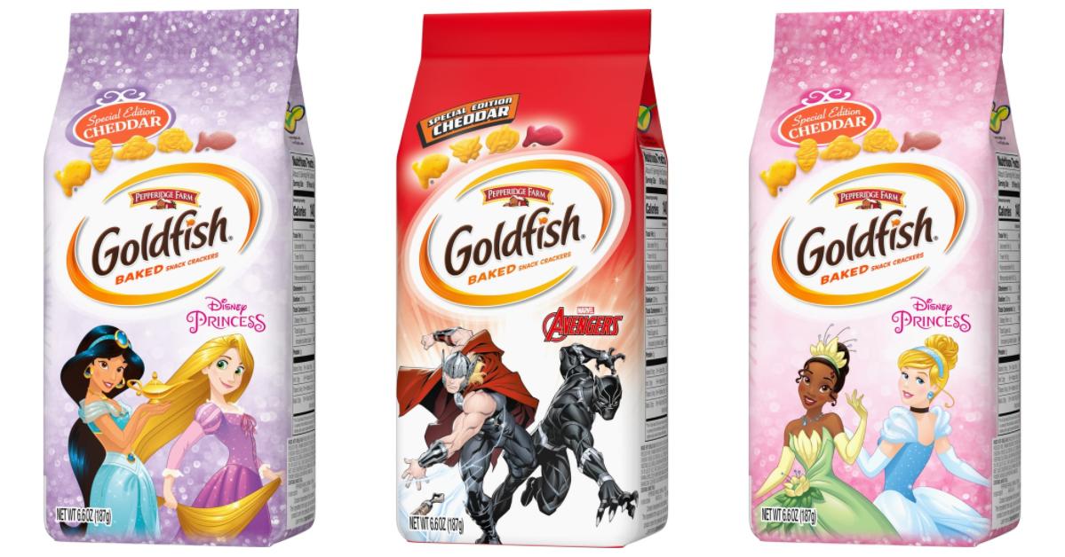 Disney Princess Goldfish Crackers