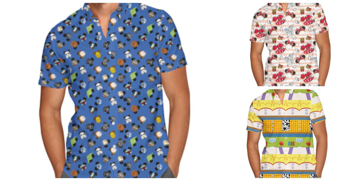 Disney Button Down Shirts