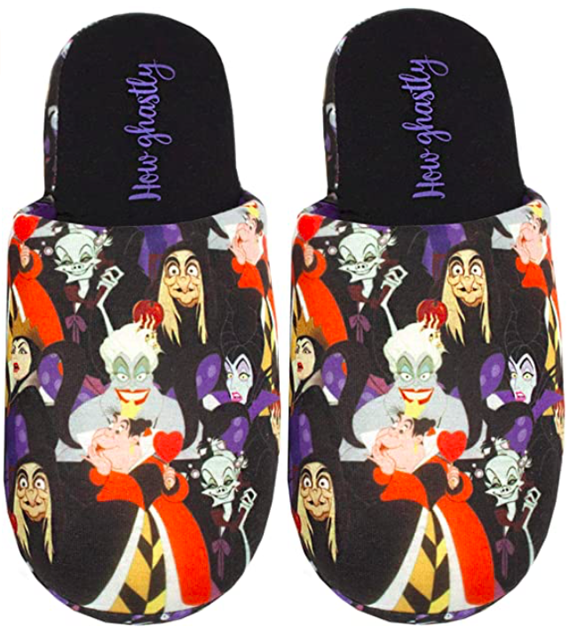 Disney Villains Slippers