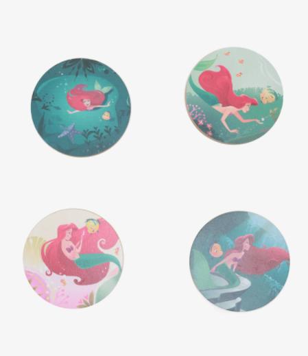 Little Mermaid Coasters