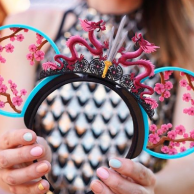 Mulan Minnie Ears