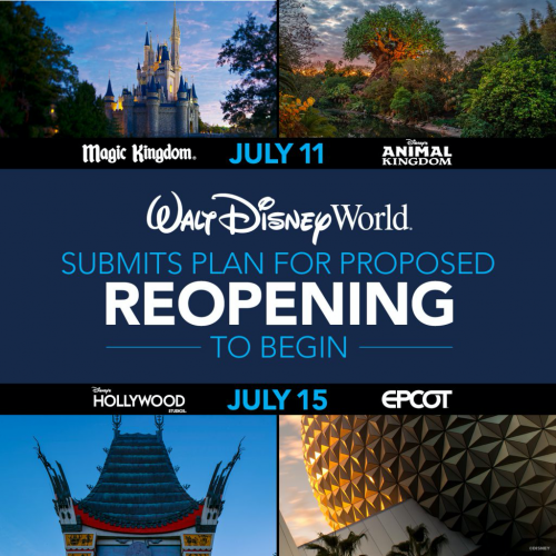 Walt Disney World Resort's Re-Opening Proposal