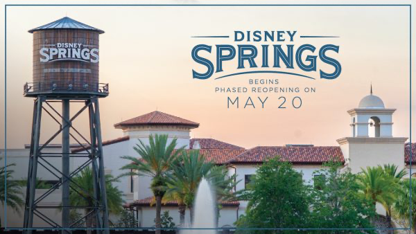 Disney Springs Reopening