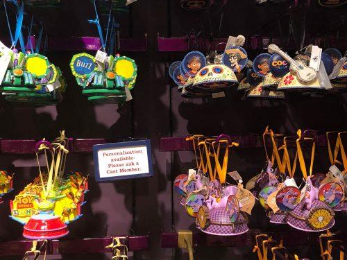 Disney Attraction Ear Hat Ornaments