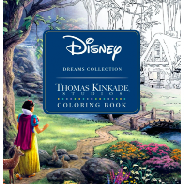 Thomas Kinkade Coloring Book