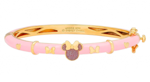 Pink Minnie Bangle Bracelet