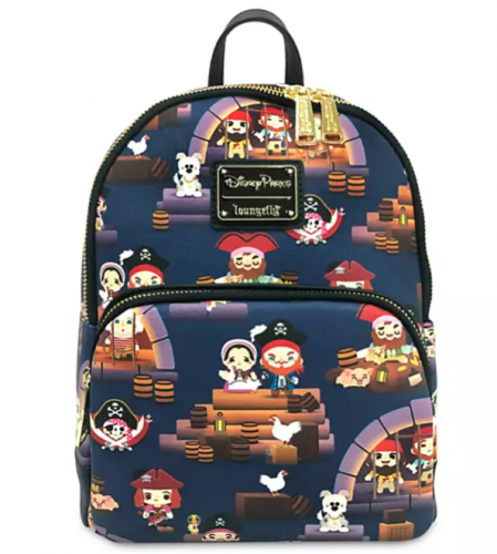 Pirates Loungefly Mini Backpack