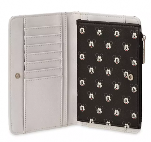 Mickey Faces Loungefly Wallet