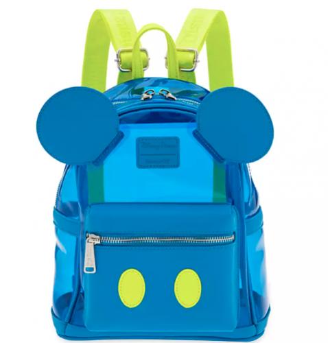 Neon Mickey Loungefly Mini Backpack