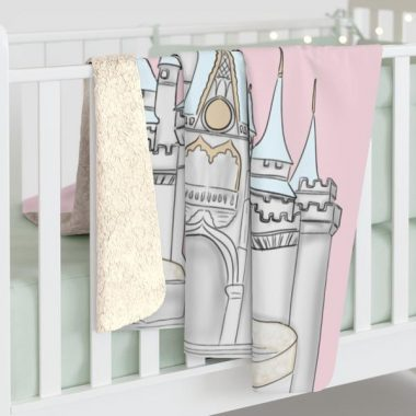 Disney Castle Blankets