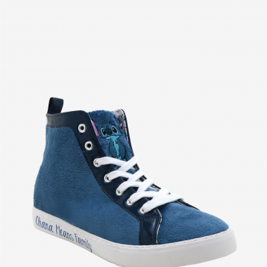 Fuzzy Stitch Hi-Tops