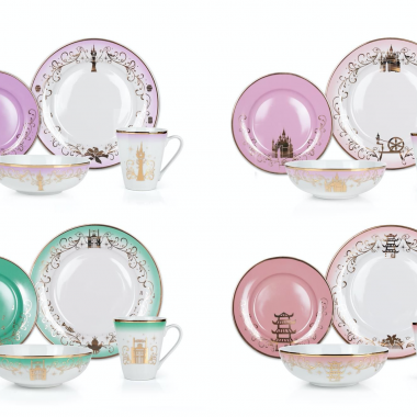Disney Princess Dinnerware Collection