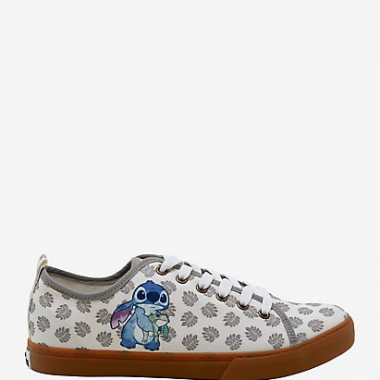 Stitch And Frog Leaf Sneakers