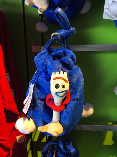 Plush Forky Crossbody