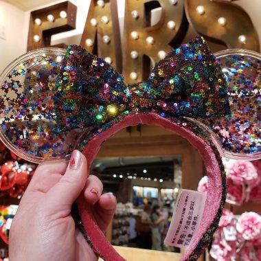 Confetti Minnie Mouse Ears