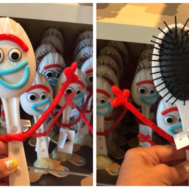 Forky Hairbrush