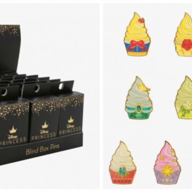 Disney Princess Ice Cream Pins