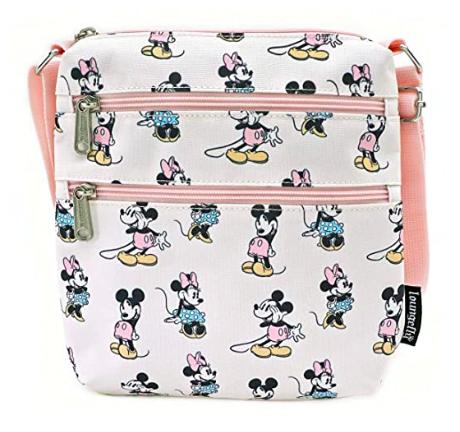 Pastel Mickey and Minnie Loungefly Crossbody