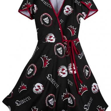 Evil Queen Wrap Dress