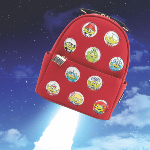 Virtual Con Alien Loungefly Mini Backpack