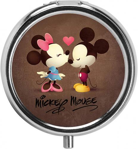 Mickey And Minnie Pill Box
