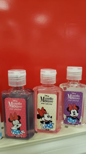 Disney Character hand sanitizers