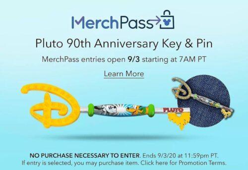 Pluto Disney Key