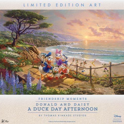 Donald And Daisy Thomas Kinkade