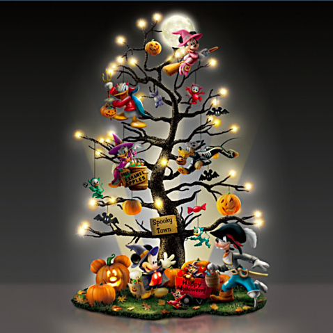 Disney Halloween Tabletop Tree