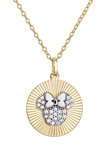 Minnie Disc Pendant Necklace