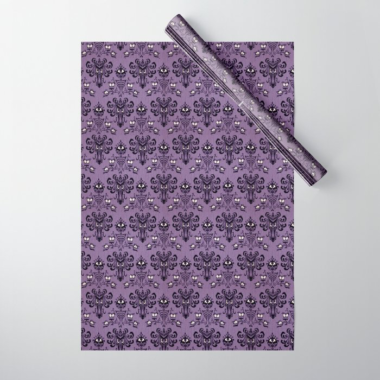 Haunted Mansion Wrapping Paper