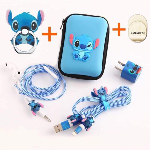 Stitch Phone Accessory Set