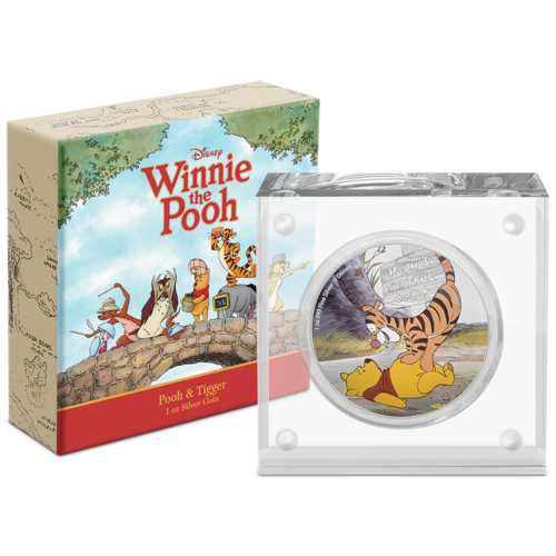 Winnie The Pooh Silver Coin