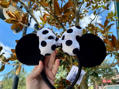 Polka Dot Minnie Mouse Ears