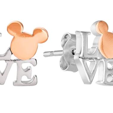 Mickey Love Earrings
