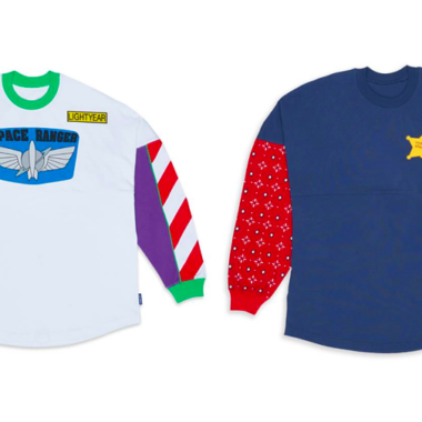 Buzz and Woody Spirit Jerseys