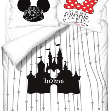 Mickey and Minnie Bedding