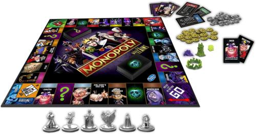 Villains Edition Monopoly