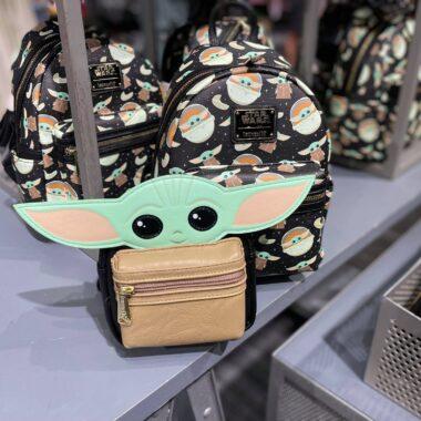 Baby Yoda Loungefly Bags