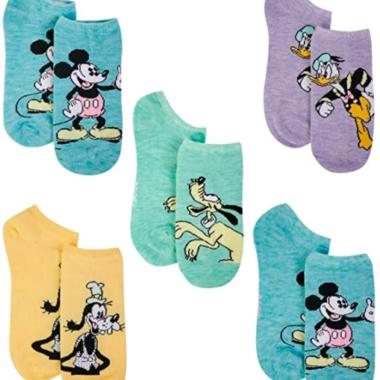 Pastel Character Socks Set